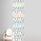 Home sweet home  Wall Decal Wall Decal