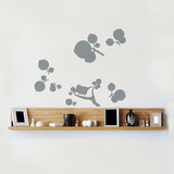 Little Murmansk Flowers Wall Decal Wall Decal