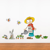 Carrots Grow Wall Decal Wall Decal