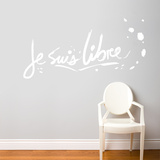 Je suis libre Wall Decal Wall Decal