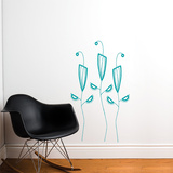 Cactus Flowers Wall Decal Wall Decal