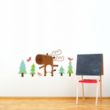 Benjamin the Moose Wall Decal Wall Decal