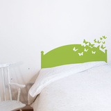 Butterflies by Night - Lime Wall Decal Wall Decal