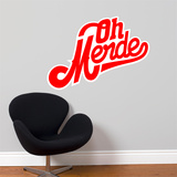 Oh Merde! Wall Decal Wall Decal