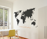 World Wall Decal Vinilo decorativo