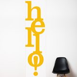 Hello   Wall Decal Wall Decal