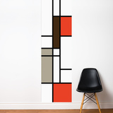 Mondrian Wall Decal Wall Decal
