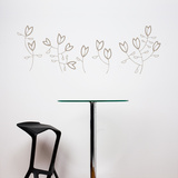 Korall Flowers Wall Decal Wall Decal