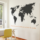 Monde Wall Decal Wall Decal