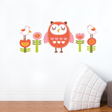 Elena the Owl Wall Decal Wall Decal