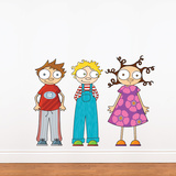 Eliot, Ludo & Lou Wall Decal Wall Decal