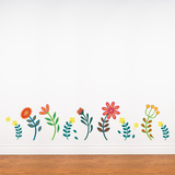 Blooming Flowers! Wall Decal Wall Decal