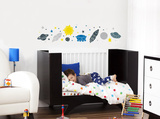 Space Wall Decal Wall Decal