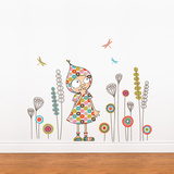 Violette's garden Wall Decal Wall Decal