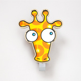 Giraffe Coat Hanger Wall Decal Wall Decal