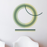O Letter Wall Decal Wall Decal
