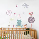 Frog Love Wall Decal Wall Decal