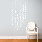 Moon Pearls Wall Decal Wall Decal
