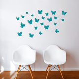 Minna (green) Wall Decal Wall Decal