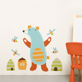 Emil the bear Wall Decal Wall Decal