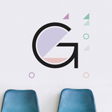 G Letter Wall Decal Wall Decal