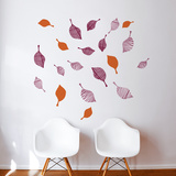 Strim (plum) Wall Decal Wall Decal