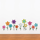 Wild Flowers Wall Decal Wall Decal