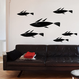 School of Fish Wall Decal Wall Decal