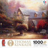 Thomas Kinkade - The Blessings of Spring 1000 Piece Jigsaw Puzzle Jigsaw Puzzle