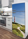 Lighthouse Refrigerator Decal Wall Decal
