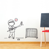 Star Player Wall Decal Wall Decal