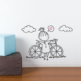 A Fine Day For a Ride Wall Decal Wall Decal