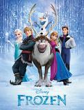 Acteurs de La Reine des neiges Masterprint