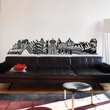 Into Vancouver Wall Decal Vinilo decorativo