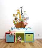 Funny Ship's Boys Wall Decal Wall Decal