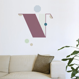 V Letter Wall Decal Wall Decal