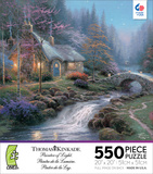 Thomas Kinkade - Twilight Cottage 550 Piece Jigsaw Puzzle Jigsaw Puzzle