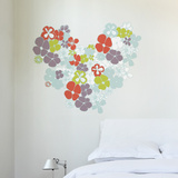 Flowers in Love Wall Decal Wall Decal