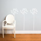 Fire-Flowers Wall Decal Wall Decal