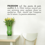 Passion (french) Wall Decal Wall Decal