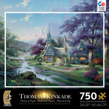 Thomas Kinkade Special Edition - Clocktower Cottage 750 Piece Jigsaw Puzzle Jigsaw Puzzle