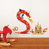 Dragon Beach Wall Decal Wall Decal
