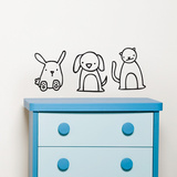 Animapals Wall Decal Wall Decal