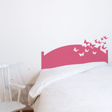 Butterflies by Night - Pink Wall Decal Wall Decal