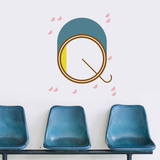Q Letter Wall Decal Wall Decal