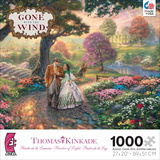 Thomas Kinkade Warner Brothers - Gone With the Wind 1000 Piece Jigsaw Puzzle Jigsaw Puzzle