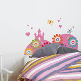 Enchanted Castle Wall Decal Wall Decal
