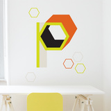P Letter Wall Decal Wall Decal
