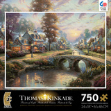 Thomas Kinkade Special Edition - Sunset on Lamplight Lane 750 Piece Jigsaw Puzzle Jigsaw Puzzle