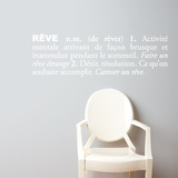 R (french) Wall Decal Wall Decal